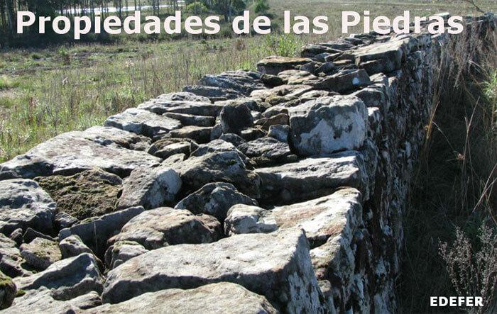 Propiedades de las piedras que las definen y clasifican