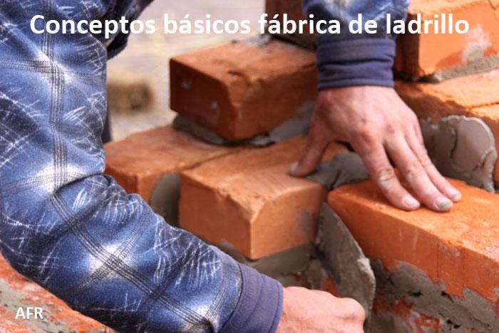 Conceptos básicos sobre la fábrica de ladrillo