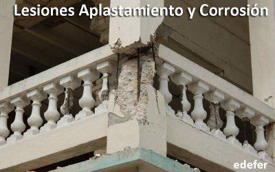 Lesiones Por Aplastamiento Y Corrosión En Un Edificio